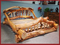 Custom Log Beds